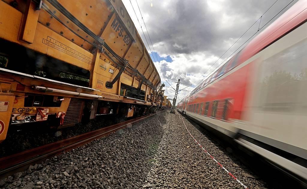Bahn Bauarbeiten Köln