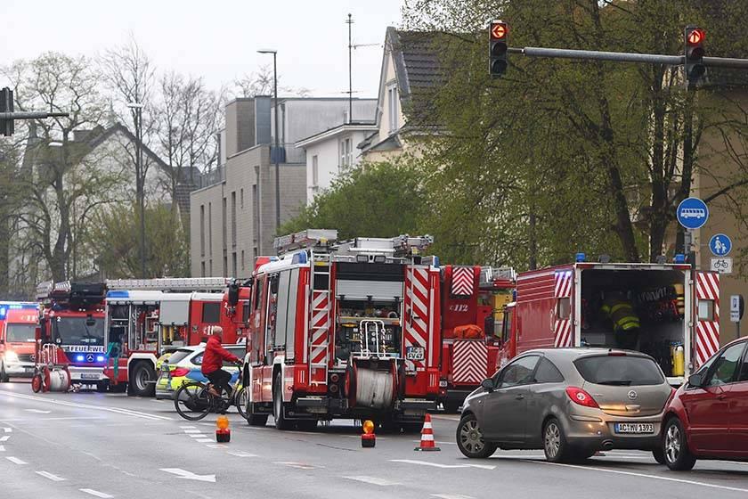 Aachen-Brand: Feuer in Wohngruppe: Einsatz an der Trierer ...