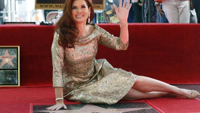 Los Angeles: Debra Messing enthüllt Hollywood-Stern