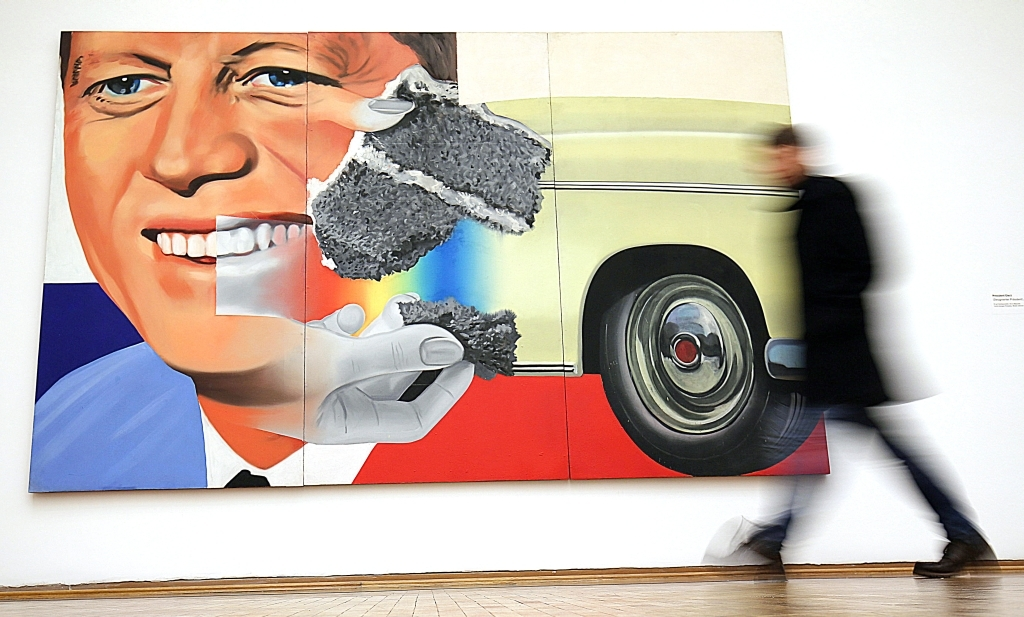 Köln: Malen im 50-Meter-Format: Schau zum Pop-Art-Künstler Rosenquist