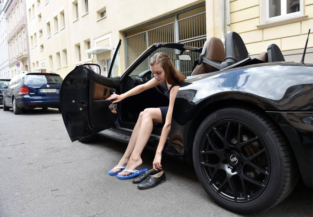 Autofahren Mit Flipflops