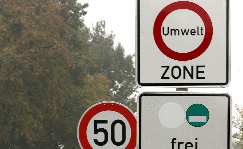 Dusseldorf Umweltzonen In Nrw Meist Darf Nur Noch Grun Rein