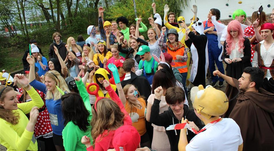 Stolberg: Mottotage: Drei Tage lang Kostümparty statt Schule