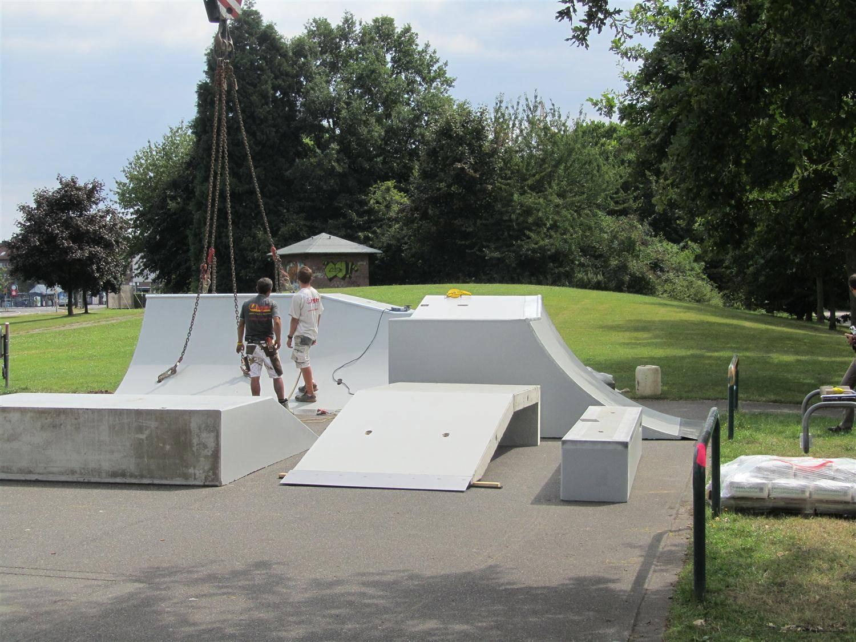 8736372c1786eb Eschweiler   Ab auf die Bretter  Skatepark wird rundum erneuert