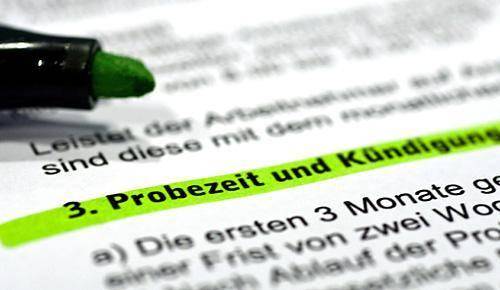 Köln Kündigung In Der Probezeit Auf Einhaltung Der Fristen Achten