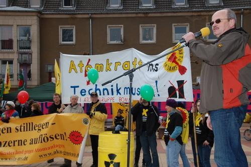 Jülich: Atommüll-Transport: Demonstration ohne Konfrontation