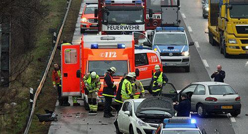 A4 Aachen Unfall