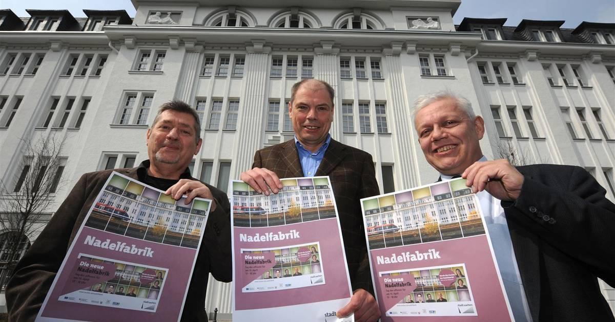 Aachen: Umbau der alten Nadelfabrik am Reichsweg perfekt