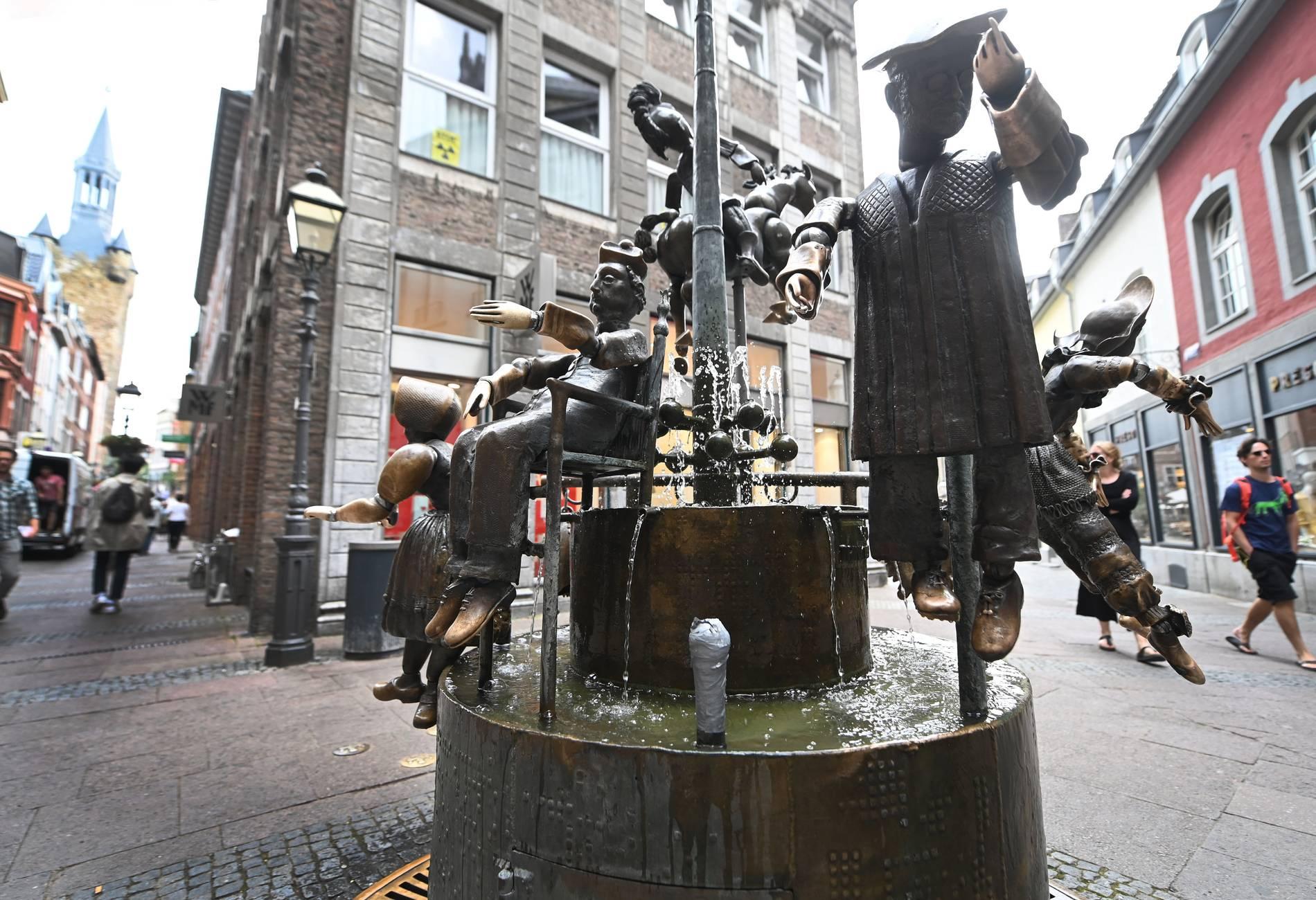Aachen: Stadtverwaltung muss 80 Brunnen pflegen - und reparieren