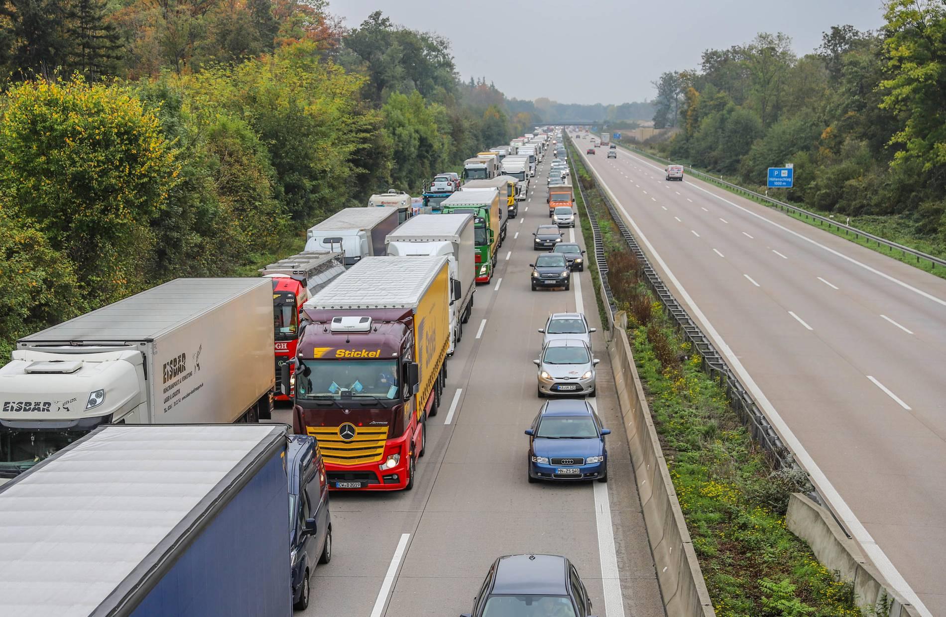 A4 Köln Stau