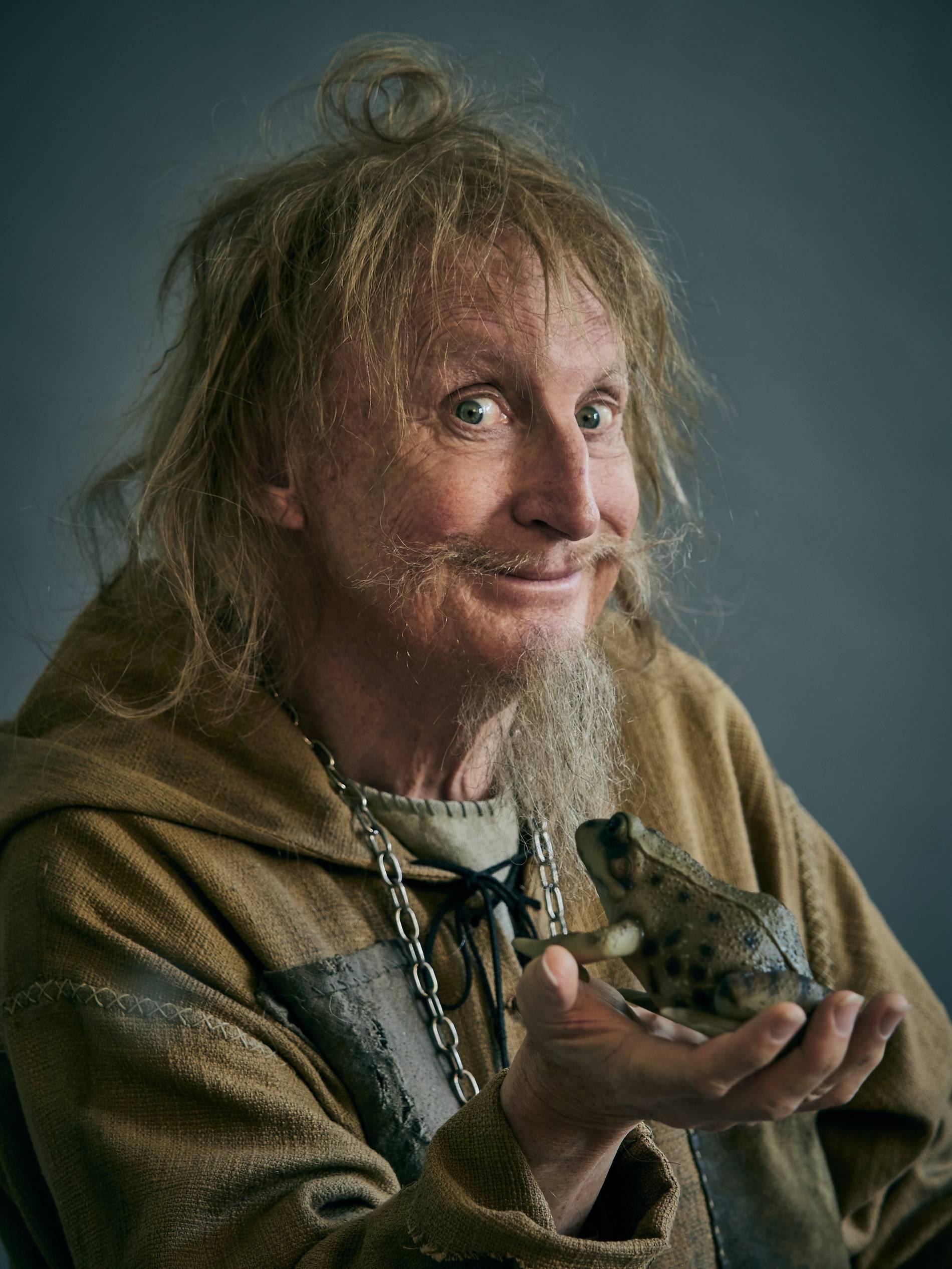 Filmstadt Stolberg: Otto Waalkes als Catweazle, aber ohne