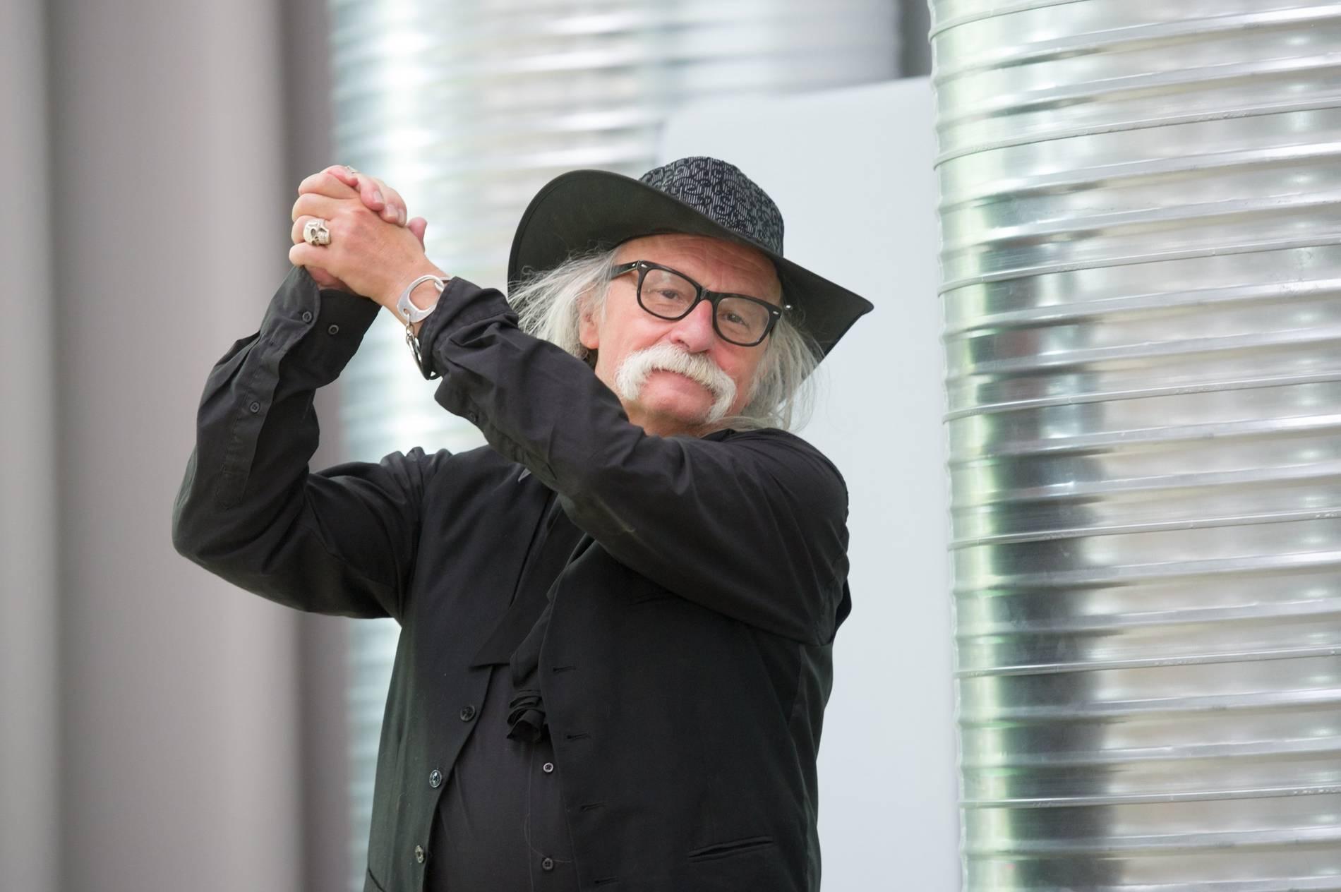 OB-Kandidat Hubert vom Venn: Mit steifen Titeln hat er