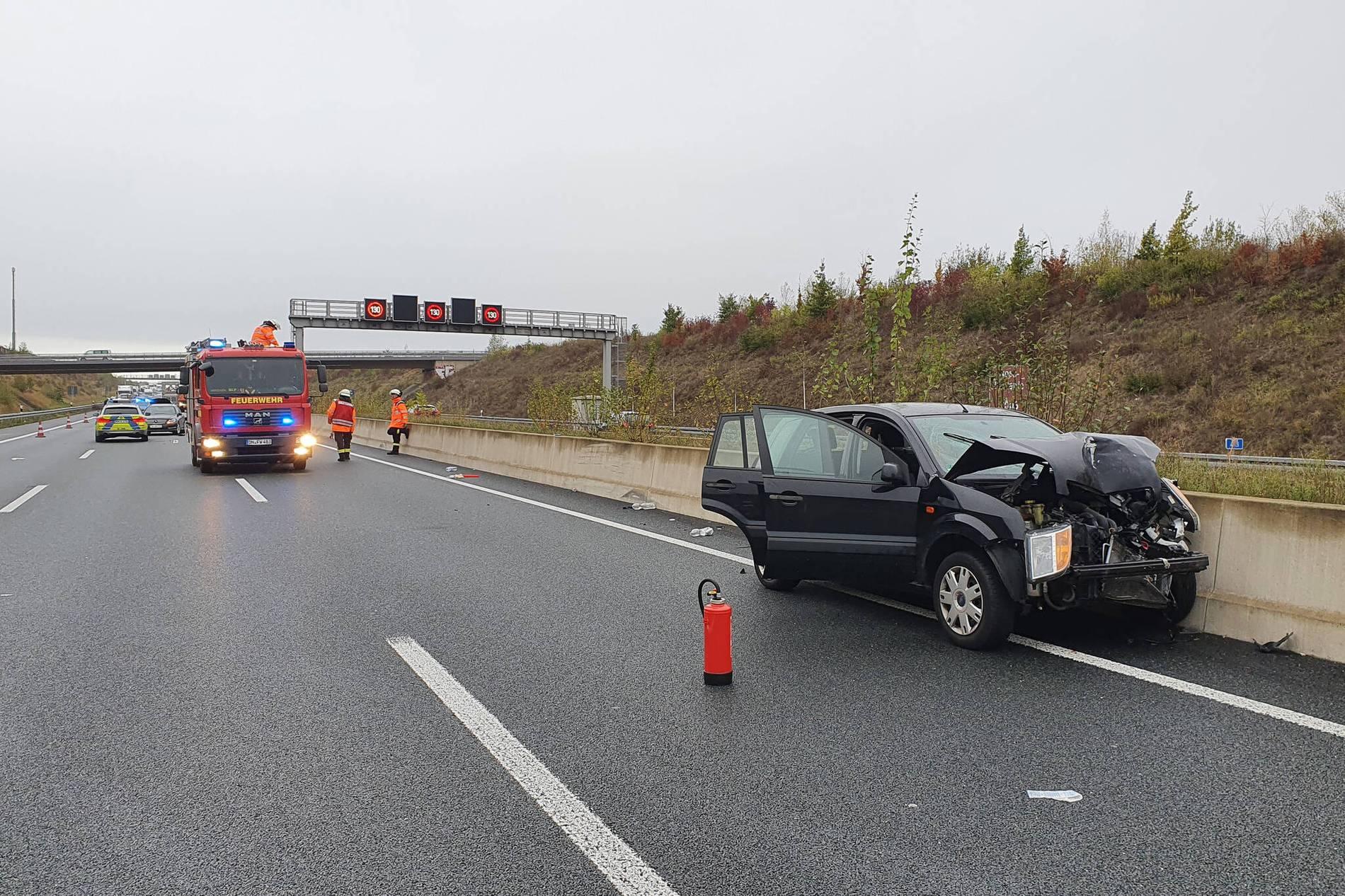 Unfall A4 Düren